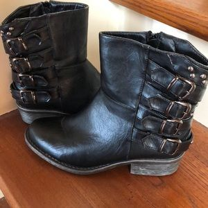 REDUCED! Bumper Black Ankle Boots